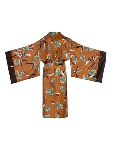 Women&Women Kimono Kahve